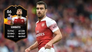FIFA 19 - TOTGS SOKRATIS (86) PLAYER REVIEW