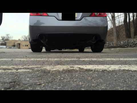 Nissan Altima Coupe TopSpeed Pro 1 Exhaust