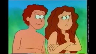 Video: Adam And Eve - Bible Cartoon