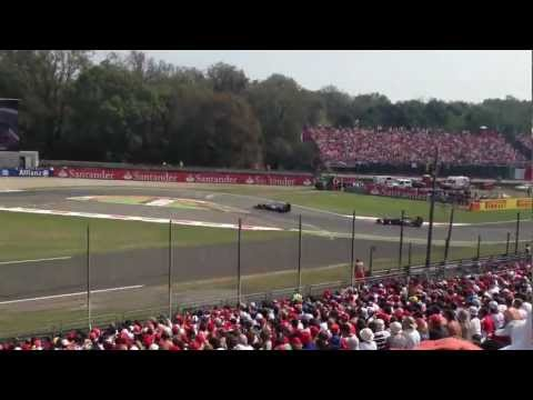 F1 2012 Monza from 8A tribune part1