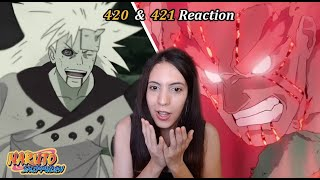 I Declare You The Strongest!! - Naruto Shippuden Episode 420 & 421 Reaction