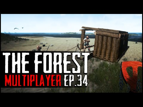 The Forest Multiplayer - Ep.34 : The Houseboat!