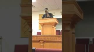 Pastor B.D. Gerald Preached in the book of St. Mark  10/09/ 16