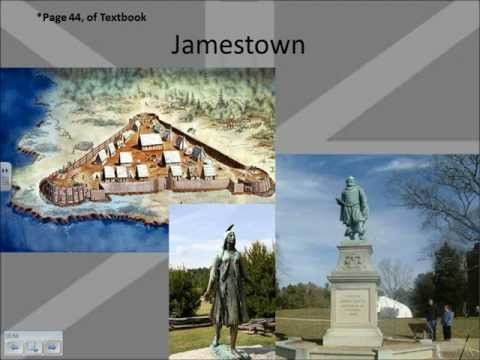 Lecture Notes: Colonization - Jamestown and the Establishment of Virginia