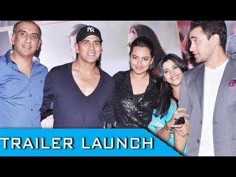 Akshay Kumar, Sonakshi Sinha And Imran Khan  At 'Once Upon Ay Time In Mumbai Dobaara!' Promo Launch