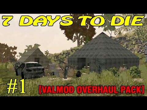 7 Days to Die [Valmod + ] ► Начало ►#1 (16+)