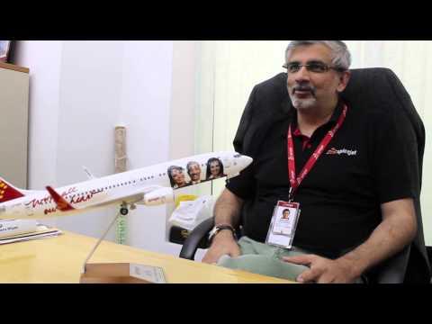 SpiceJet COO Sanjiv Kapoor on airline branding and social media