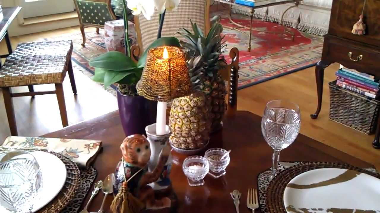 Thai Table Pad Thai Table Setting For Pad Thai