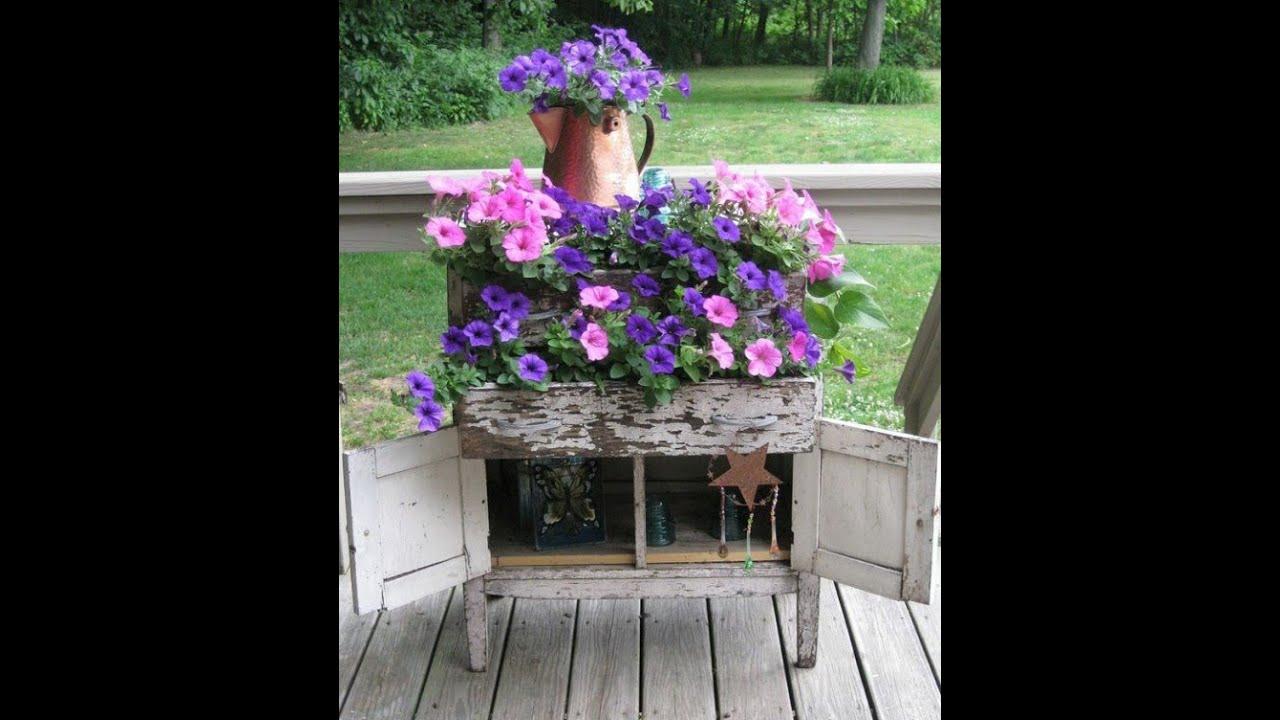 Декор сада своими руками оригинальные идеи фото 65