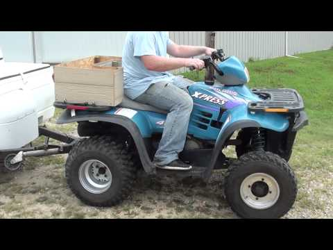 1996 polaris 400 Express 2 stroke utility quad fully automatic