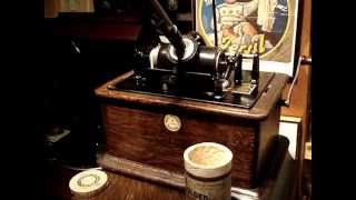 Thomas Edison's Electric Light Bulb Band Video - Popular Record Cylinder 171 dubbed from Edison 9065 ?
