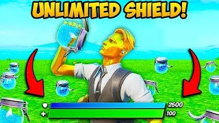 *NEW* UNLIMITED SHIELD TRICK!! - Fortnite Funny Fails and WTF Moments! #846