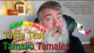 Taste Test – TAMAYO TAMALES - Red, Green and Corn – Day 17,929