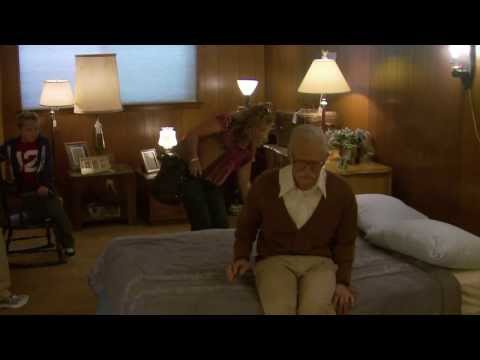 Jack Presents Bad Grandpa Adjustable Bed Movie Clip