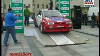 Nissan Sunny GTI - 2006 Istanbul Rally Championship Start