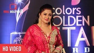 Sudha Chandran At Colors Golden Petal Awards 2017   Viralbollywood