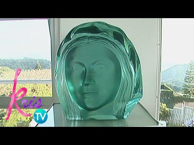 Kris TV: Virgen Maria scuplture