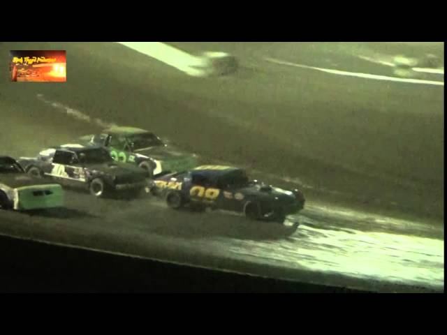 Pure Stock 100 Lap Main/Part 2 At CSP August 31st 2014