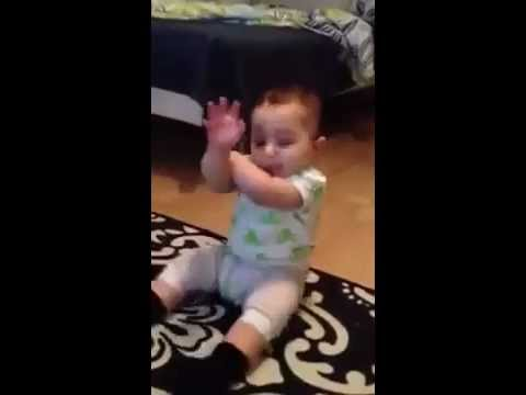 Fun Little Baby Open Gangnam Style Funny video