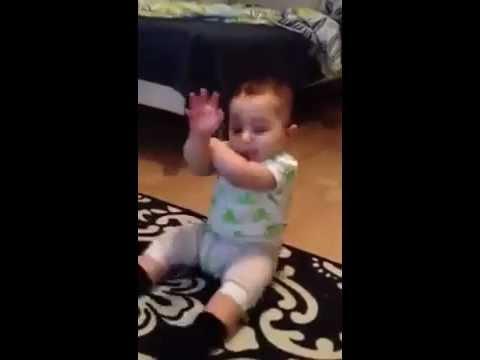 Fun Little Baby Open Gangnam Style Funny video