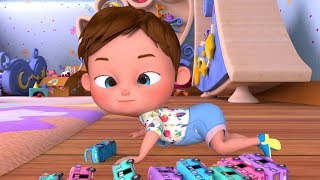 Ten Little Buses | Plus More Nursery Rhymes | 58 Mins Compilation From Banana Cartoons [HD]