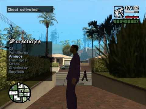 Gta San Andreas Change Player + (Mod Link)