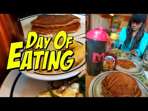 Day Of Eating | Pre-Marathon Carb Load