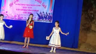 Nữ Sinh Thanh Lịch _ Trường TH-CS Mường Bám_Part 3
