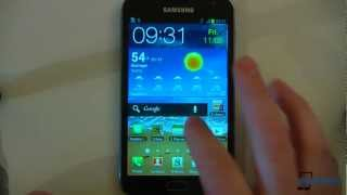 Samsung Galaxy Note Running Official Android 4.0 ICS