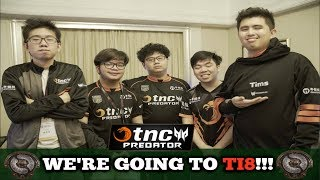 GREATEST COMEBACK EVER!!! TNC Predator COMEBACK MOMENTS vs TNC Tigers!!! TI8 Qualifiers FINALS