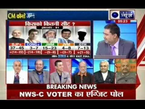 India News Exclusive: Jharkhand BJP euphoric with exit poll results