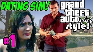 Dating Sim GTA V Style - My FRIGID B*TCHY WIFE! (Grand Theft Auto 5)