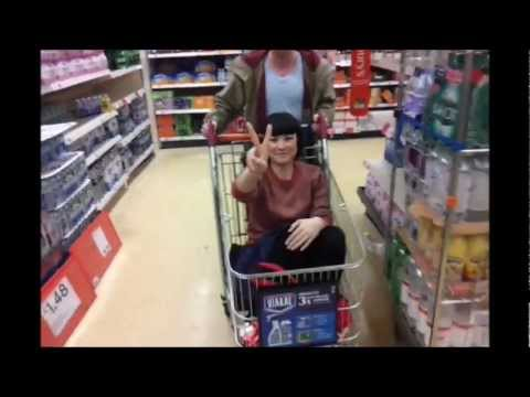 EXTREME CHARADES with Bec Hill - Episode 4: Supermarket Trolley