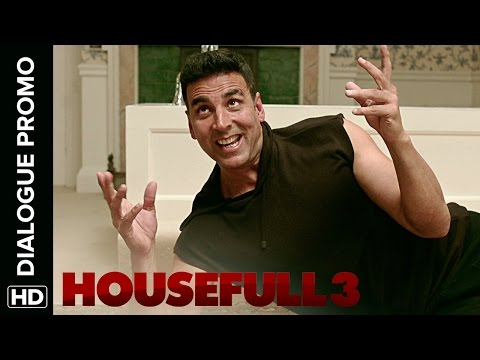Jacqueline Is Frustrated With Akshay's Split Personality | Housefull 3 | Dialogue Promo