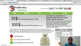 Themonthlypayment.com Scam Review | You Won't Get Payments From A Scam, Review This Site First