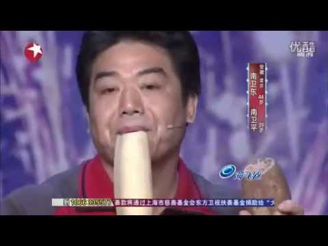 China s Got Talent: amazing, Two Guys Play a Musical Duet with Vegetables