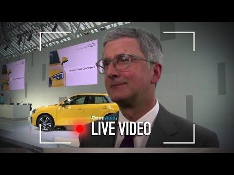 """Audi   Rupert Stadler: """"le vendite dei SUV cresceranno perchè sono più sicuri..."""""""