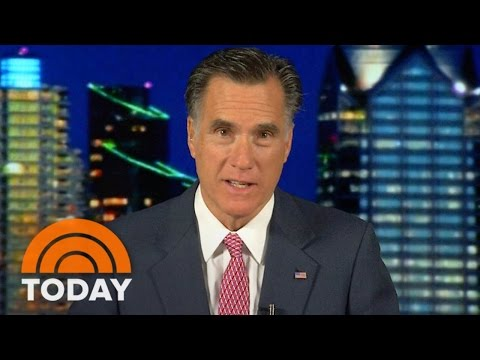 Mitt Romney: Obama Has 'Pulled His Punches' With ISIS | TODAY