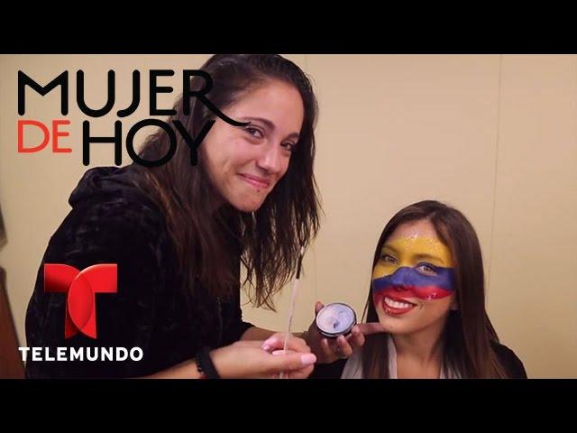 iVillage Mujer | Maquillaje para el Mundial: muestra los colores de tu bandera | Telemundo
