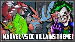Pokemon Theme Battle - Marvel vs DC Villains Ft. Original151