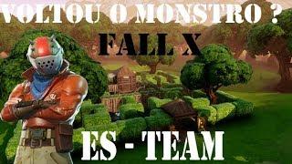 🔴 FORTNITE  #Fall X ( ES-TEAM ) 520 WINS + #SÓ RUSHH !!