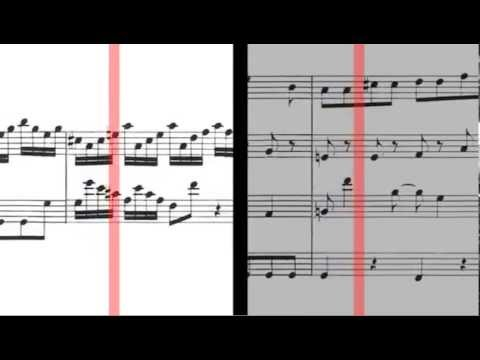 Marcello bach adagio piano version