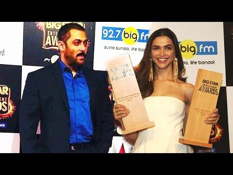 Salman Khan, Deepika Padukone Wins BEST ACTOR & BEST ACTRESS 2015