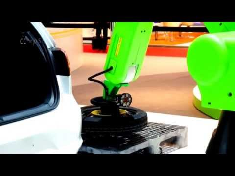 Fanuc Robot learns to steal Tires