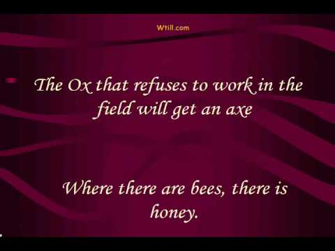 motivational proverbs and sayings on work youtube
