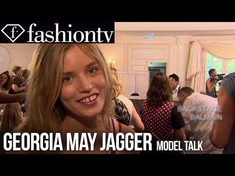 Georgia May Jagger: Top Model Spring/Summer 2014 Fashion Week | FashionTV