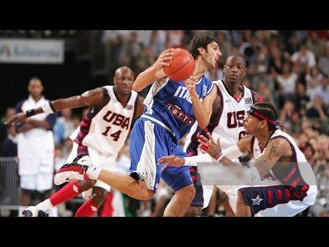 USA vs Italy 2004 Athens Olympics Exhibition Friendly Match FULL GAME Italian