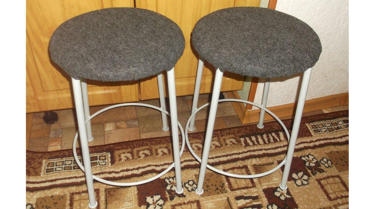 Как сделать железный стул
