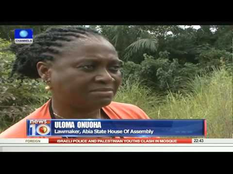 News@10: Abuja Centenary City: Youths Protest Alleged Paymen