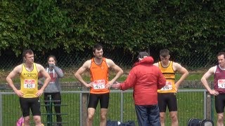 Mens 100m & 200m at the 2017 Munster T&F Championships...Video by Jerry Walsh